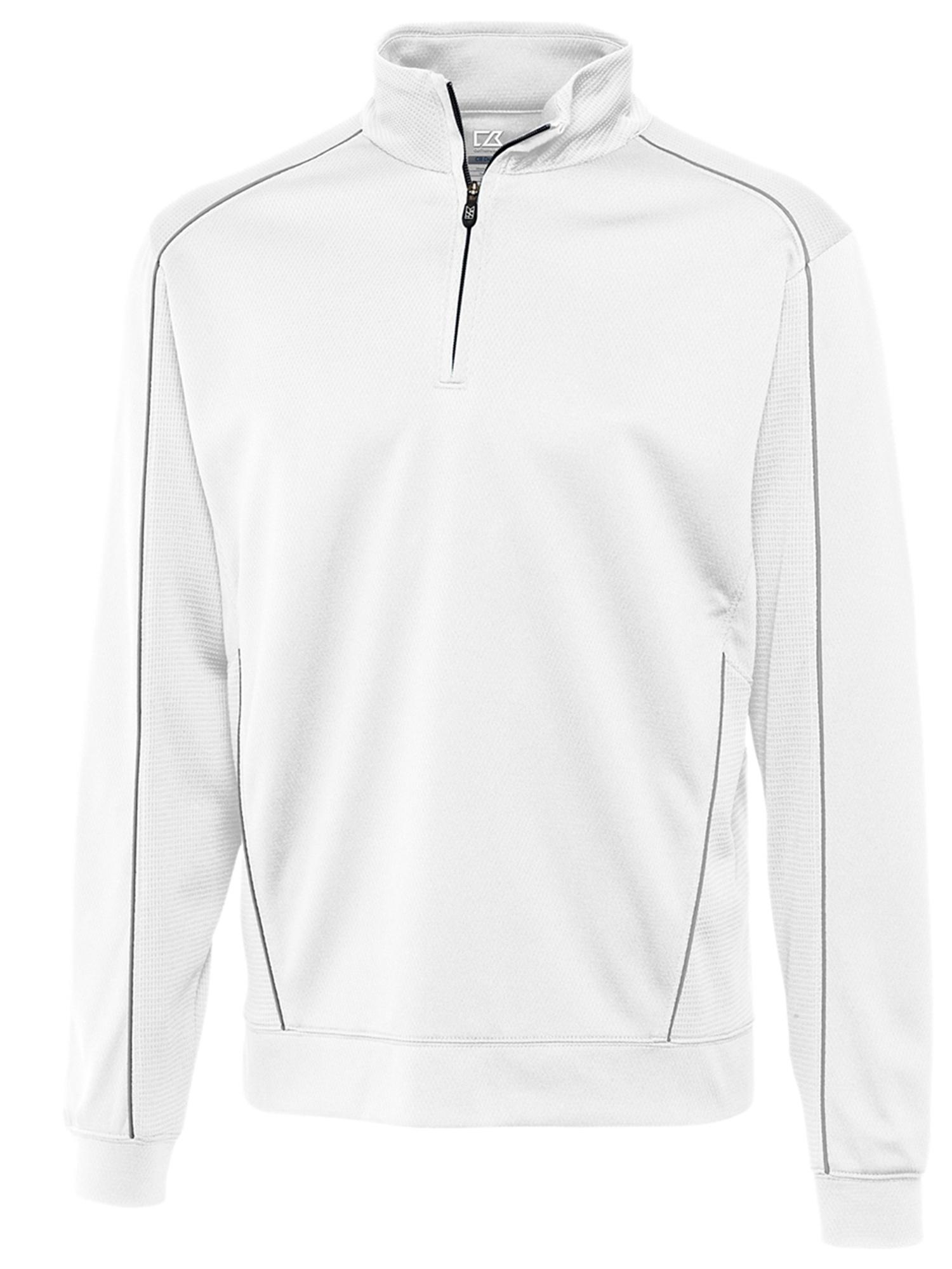 Cutter & Buck Men's Comfort Moisture Wicking Half Zip Pullover