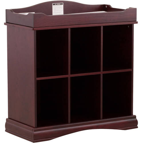 Storkcraft Beatrice 6-Cube Organizer and Changing Table, Choose Your Finish