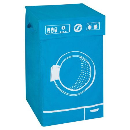 Versatile Hamper in Blue (Teak Laundry Hamper)