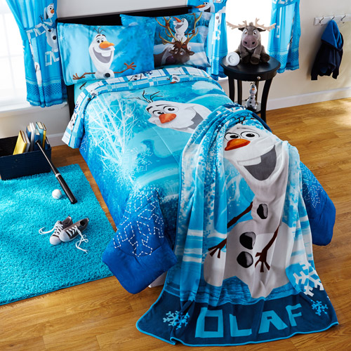 Disney Frozen Olaf 'Build A Snowman' Twin/Full Bedding Comforter