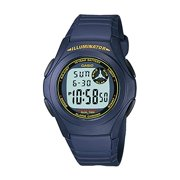 Casio F200W-2B Unisex Blue Dual Time Alarm Chronograph Digital Watch