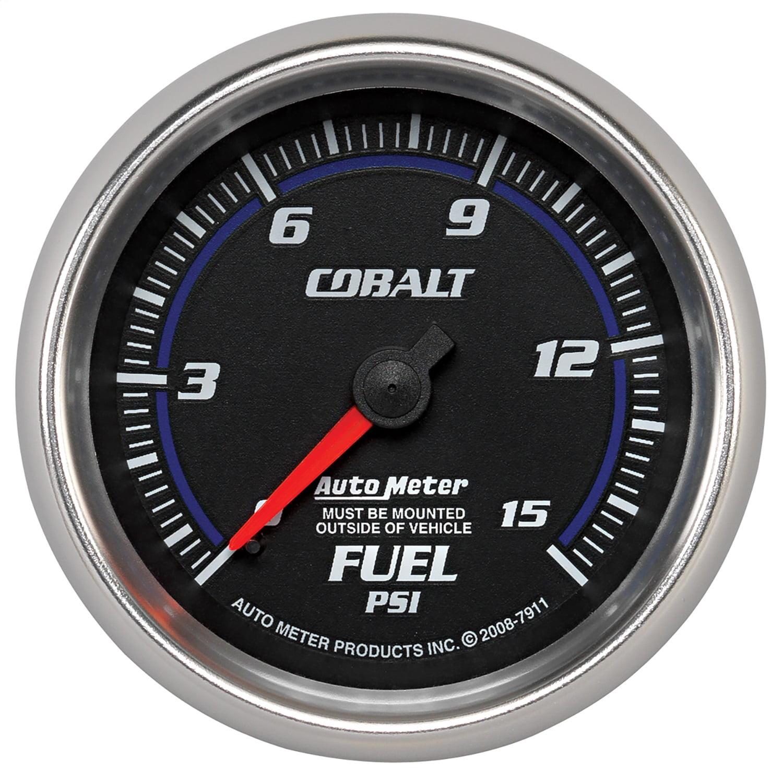 Auto Meter 7911 Cobalt Mechanical Fuel Pressure Gauge
