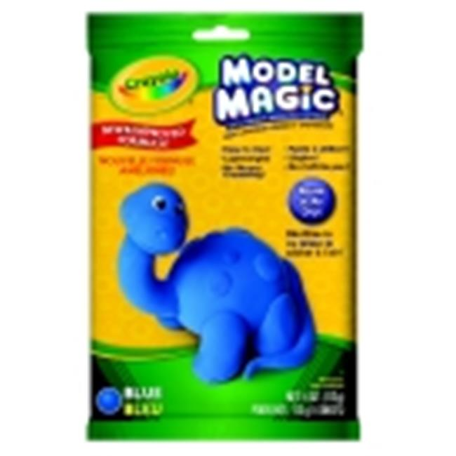 Crayola Non-Toxic Model Magic Mess-Free Modeling Dough - 4 Oz. - Blue