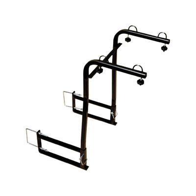 """Swagman Around The Spare Bike Rack For Up To 2 Bikes Fits 4-4.5"""" Steel Bumper, RV Approved"""