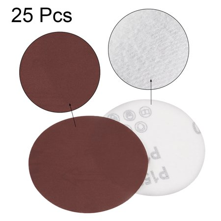 4-Inch Sanding Disc 1500 Grits Aluminum Oxide Flocking Back Sandpapers for Sanders 10 Pcs - image 1 de 5