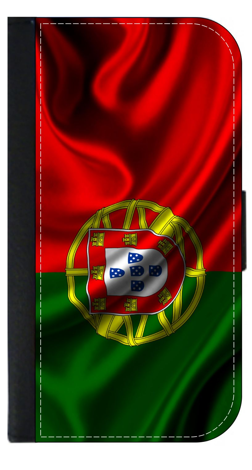 Portugal Flag Wallet Flip Style Phone Case Compatible with the Apple iPhone 7... by Accessory Avenue