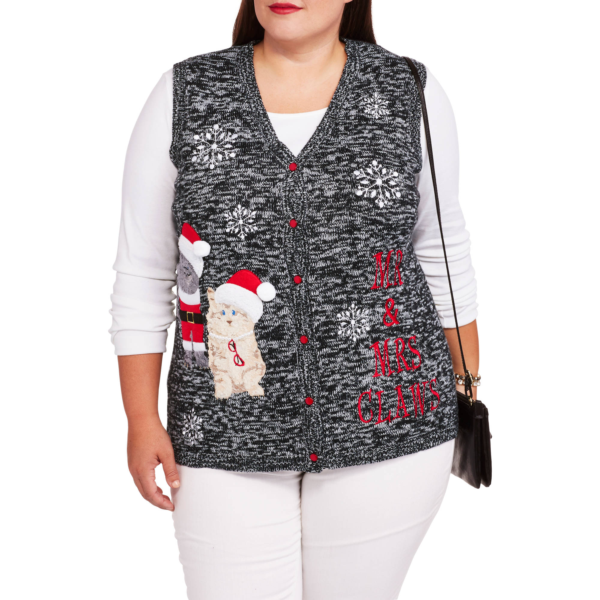 Walmart Cat Christmas Sweater 55