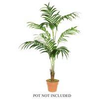 7' Decorative Artificial Tropical Kentia Palm Tree