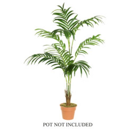 7' Decorative Artificial Tropical Kentia Palm