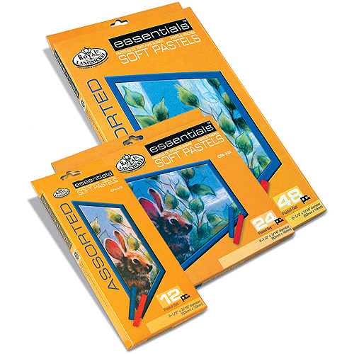 Soft Pastels, Assorted, 12/pkg