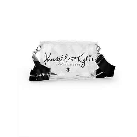 Kendall + Kylie for Walmart Clear Lucite Crossbody Bag Cross Body Style Bag
