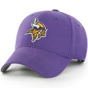 Men's Fan Favorite Purple Minnesota Vikings Mass Basic Adjustable Hat - OSFA