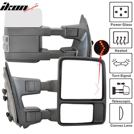 Turn Signal Mirror Lights Arrows (Fits 03-07 F250 Rear View Mirror Power Heated Turn Signal Arrow Light)
