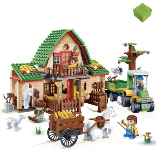 BanBao Farm City 541-Piece Building Set by Generic