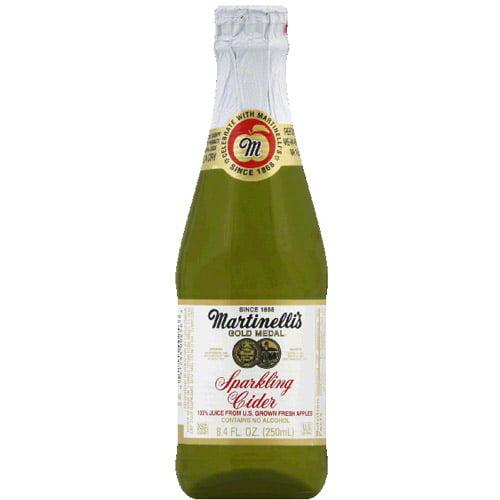 Martinelli's Gold Medal Sparkling Cider, 8.4 Fl Oz, 12 Count