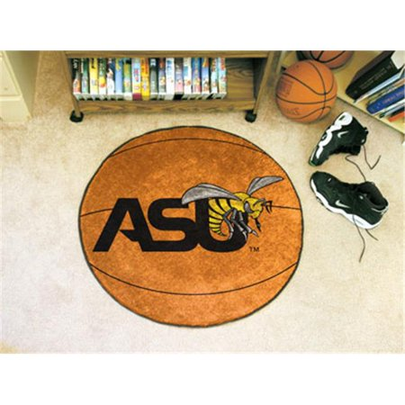 State Hornets Basketball - FANMATS 288 Alabama State Basketball Rugs 29 in. diameter