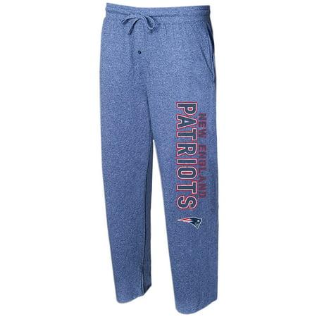 New England Patriots Concepts Sport Quest Knit Lounge Pants - Navy ()