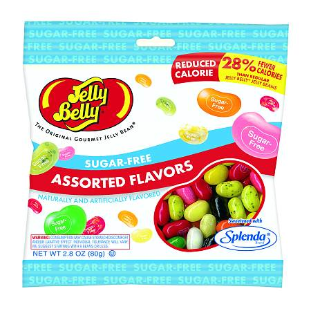 Jelly Belly Sugar Free Jelly Beans, Assorted Flavors, 2.8 ounce Bag (Pack of 2 Bags)
