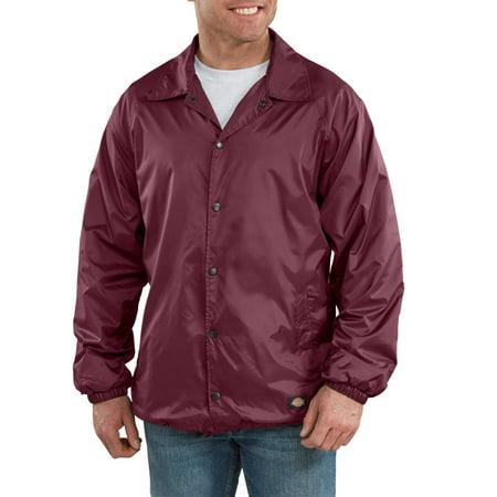 Big & Tall Men's Snap Front Nylon Jacket