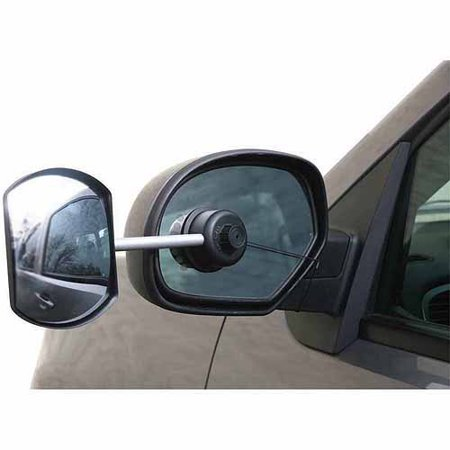 Camco Tow-N-See Mirror, Convex, English