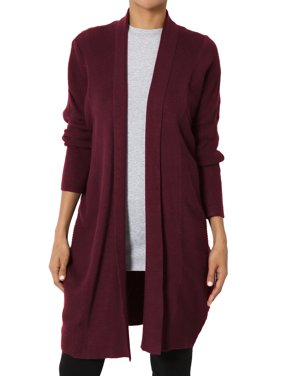 04a03d0258 Product Image TheMogan Women s Dolman Long Sleeve Oversized Ribbed Knit  Sweater Cardigan