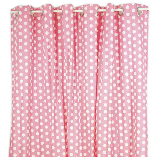 Pam Grace Creations Posh in Paris Cotton Shower Curtain