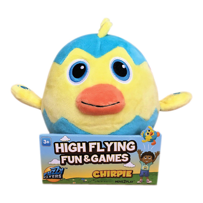 Fuzzy Flyers Chirpie The Flying, Talking Bird