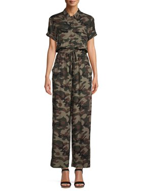 No Boundaries Juniors' Boiler Jumpsuit