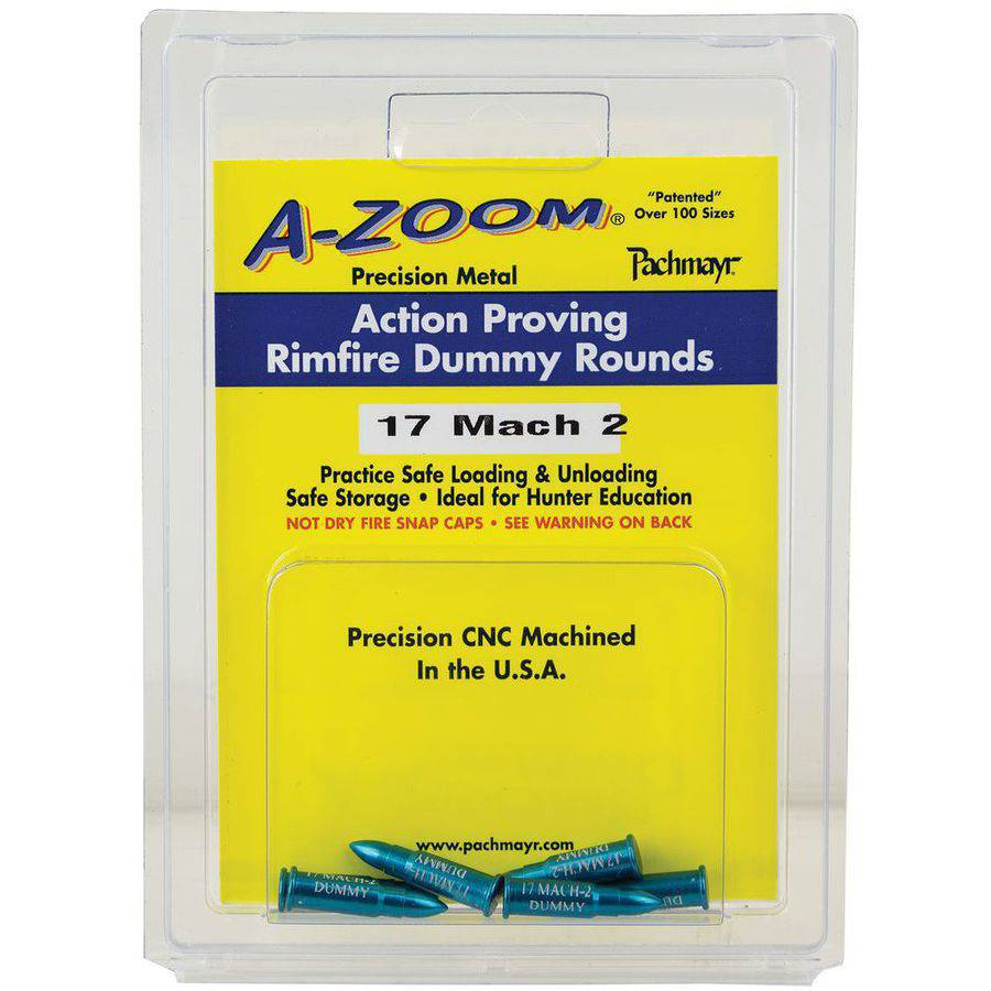 A-Zoom 12204 22 Rimfire Proving Training Rounds Snap Caps 22 Magnum, 6-Pack