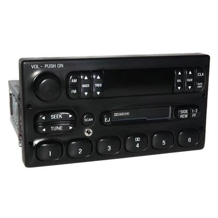 Ford Truck and Van AM FM CS iPod Sat Aux Input Radio 1999 to 2010 YW7F-19B132-AA - Refurbished
