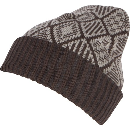 Sakkas Lucien Pattern Knit Cap Beanie Hat Warm Light Unisex - 1760-gray - One Size Regular