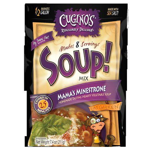 Cugino's Mama's Minestrone Soup Soup! Mix, 7.4 oz