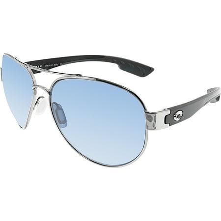 Mirrored South Point SO21OGP Grey Aviator Sunglasses (Costa Aviators)