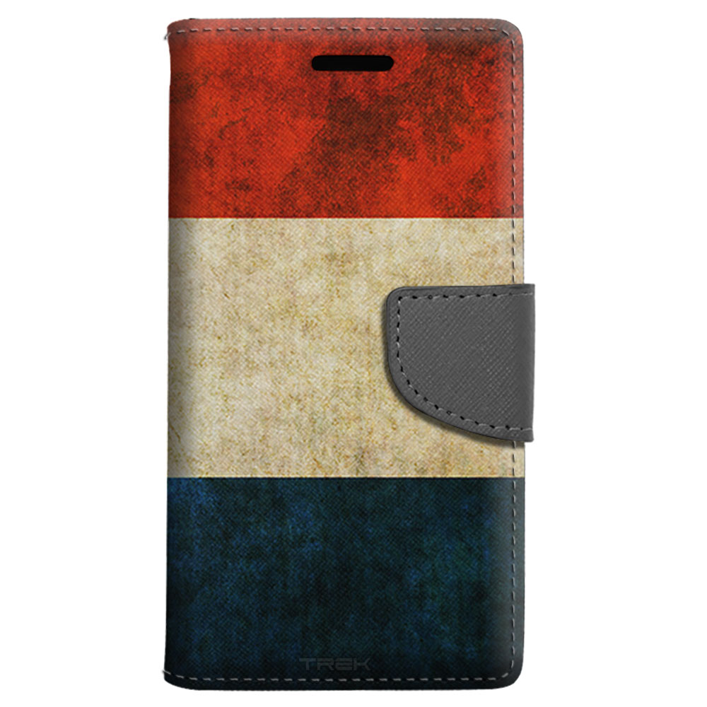 LG G Stylo 2 Wallet Case Vintage Dutch Flag Case by Trek Media Group
