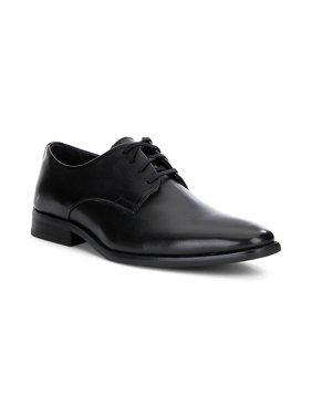 Calvin Klein Ramses Leather Oxford Shoes - 13M - Black / Black