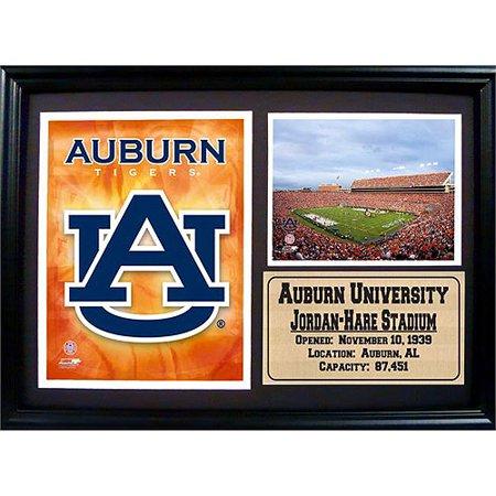 NCAA Auburn Photo Stat Frame, 12x18 18' Photo Stat Frame