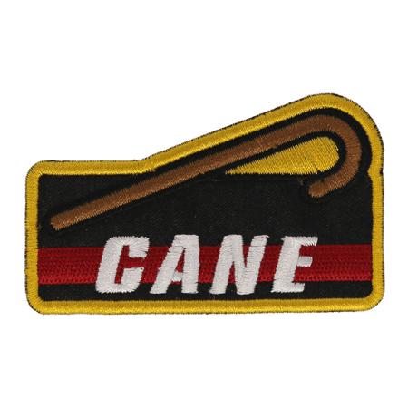 Achievement Patch: Cane (Belt Achievement Patches)