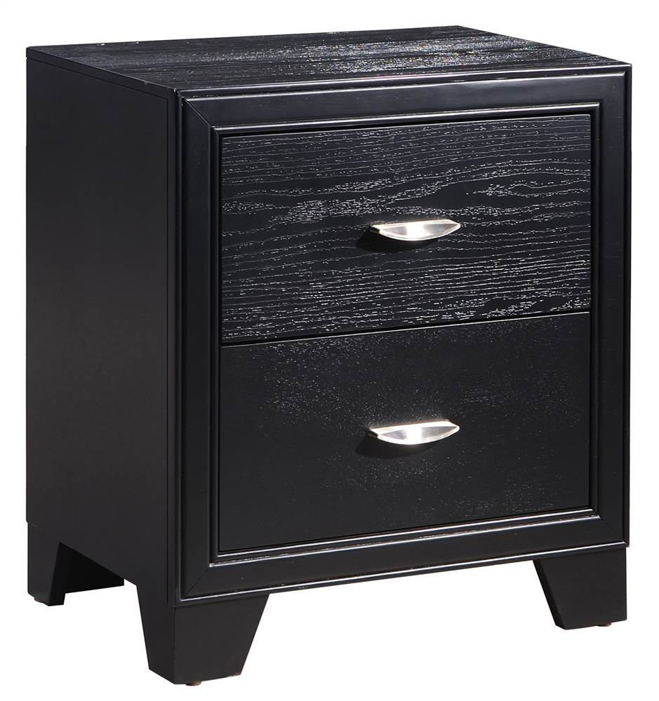 Night Stand in Black Finish