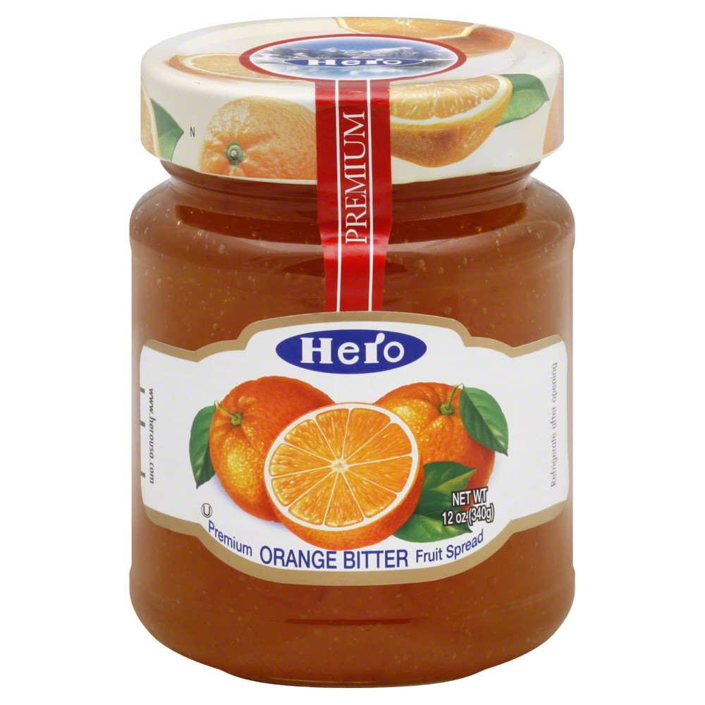 Hero Premium Marmalade Bitter Orange, 12.0 OZ