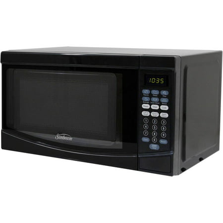 Sunbeam 0 7 Cuft 700 Watt Microwave Oven Sgke702 Black