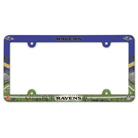 Baltimore Ravens Full Color License Plate Frame](Plates Baltimore)