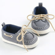 0-18M Baby Shoes Boy Girl Newborn Soft Soles Crib Soft Sole Shoe Sneakers
