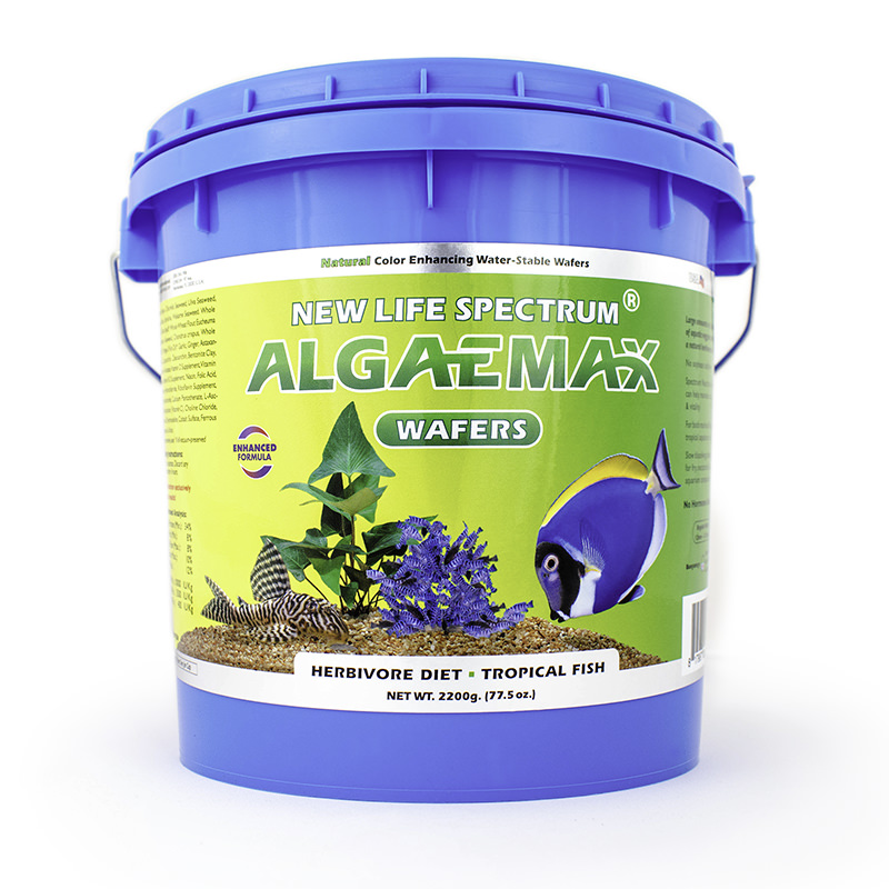 New Life Spectrum AlgaeMax Tropical Fish Food Wafers, 2.2 kg