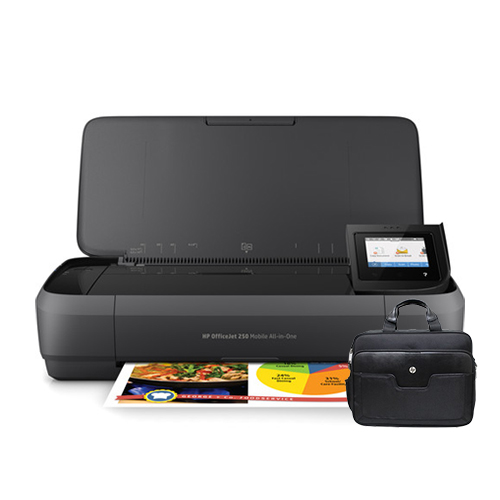 """""""HP OfficeJet 250 Mobile AIO Printer w  Notebook Mobile Printer Carrying Case Officejet 250 Mobile AIO... by HP"""