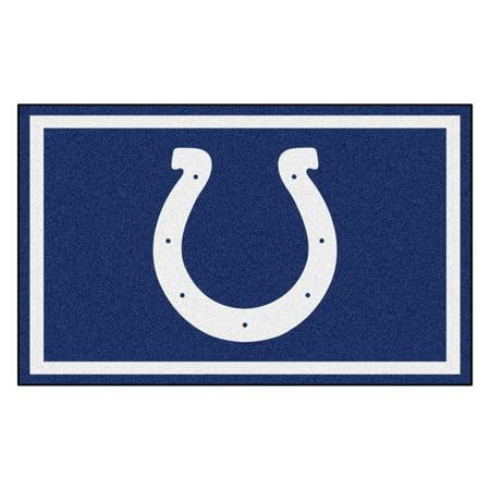 Indianapolis Basketball Rug (NFL - Indianapolis Colts 4'x6' Rug )