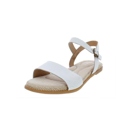 Womens Welch Leather Espadrille Flat Sandals