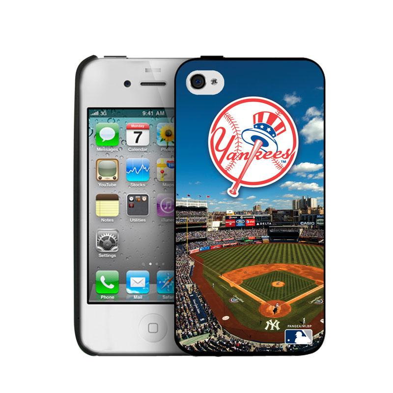 Iphone 4/4S Hard Cover Case - New York Yankees New York Yankees PANGBBNYYIP4BP1