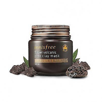 (3 Pack) INNISFREE Super Volcanic Pore Clay Mask