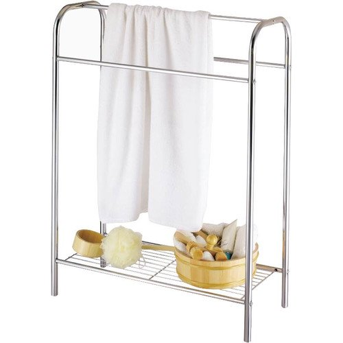 Average Height Of Towel Bar In Bathroom: Homebasix Free Standing Towel Rack