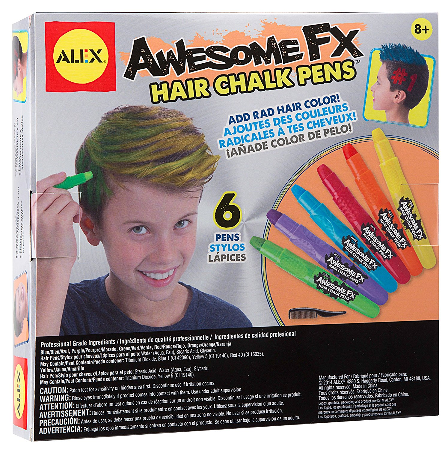 Guy Gear Awesome Fx Hair Chalk Pens Duct Spa Lites Cuffs Awesome My